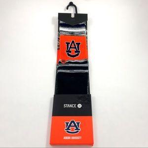 Mens Stance NCAA Auburn Tigers Crew Socks 6-8.5